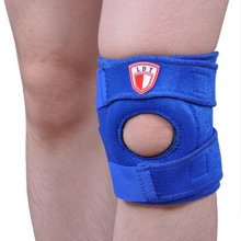 Set of 2 Sports Safety Adjustable Knee Pads Knee Support/Protector Blue