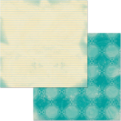 "Something Splendid Double-Sided Cardstock 12""X12""-Swell"