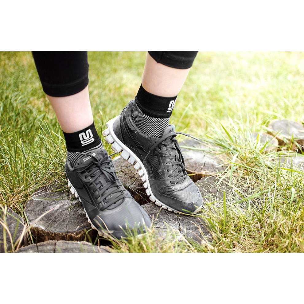 2b8581609ef ... Plantar Fasciitis Socks Foot Care Compression Sock Sleeve with Arch &  Ankle Support and Heel Hugger ...