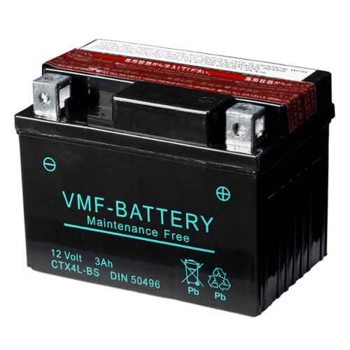 VMF Powersport Liquifix Battery 12 V 3 Ah MF YTX4L-BS