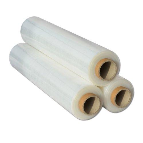 3x  Shrink Wraps Heavy Duty Clear Pallet Wrap Stretch Film 500mm x 450m 23mu 3kg