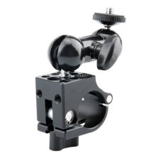 NICEYRIG 25mm Rod Clamp wiht Multi-functional Double Ballhead for DJI Ronin-MX Ronin-M Monitor Mount