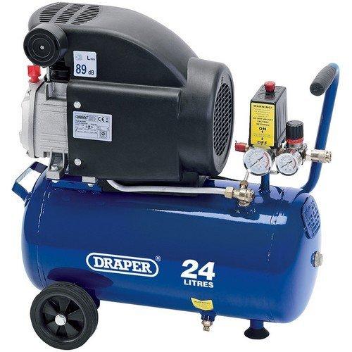 Draper 24980 24L 230V 1.5kW (2hp) Air Compressor