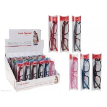 Ladies Plastic Framed Reading Glasses -  trendy reading glasses 100 300 unisex ladies mens designer retro spring