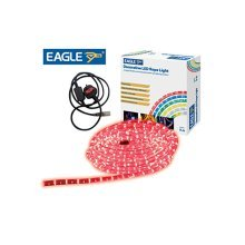Eagle Static Plug and Play LED Rope Light 9m red