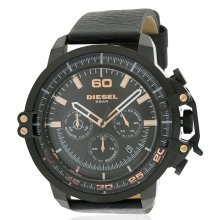Diesel Deadeye Leather Chronograph Mens Watch DZ4409