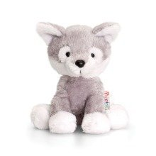 Keel Pippins Storm the Husky Soft Toy 14cm