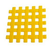 Silicone Placemat Cup Bowl Mat Table Non-slip Potholders Tableware Pad Yellow