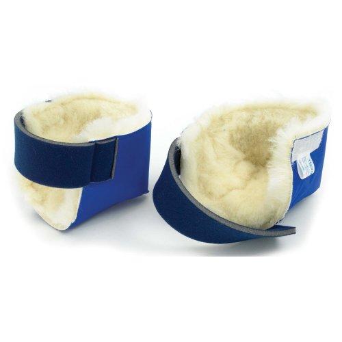 Slippy Heel Protectors - Wool Pile - Helps Prevent Pressure Sores