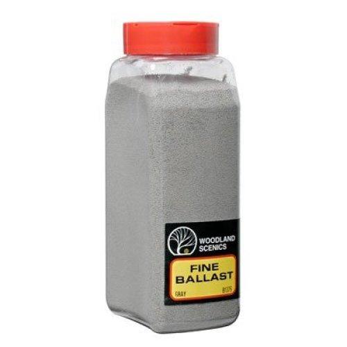 Fine Ballast Shaker, Gray/50 cu. in.