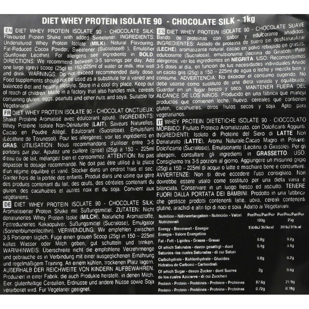 f549878cc The Protein Works Diet Whey Protein Isolate 90 Powder Shake ...