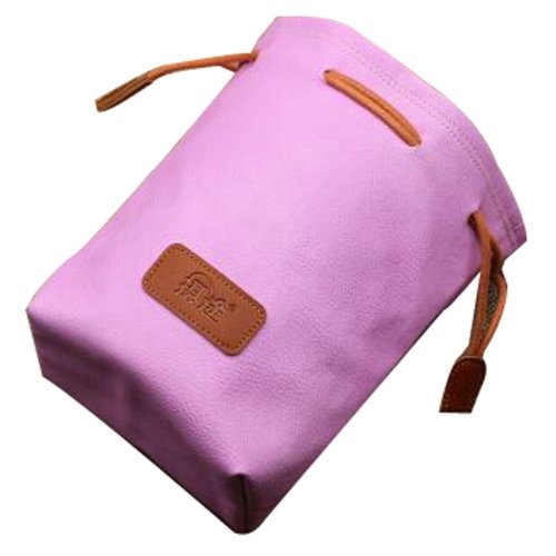 Micro Single Camera Bag The Lens Receive Bag Camera Cag Pink