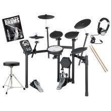 Roland TD-11K Electronic V-Drums Drum Kit Includes Stool Sticks Pedal Headphones And FREE Backbone Tutorial Book & CD Worth £15.99