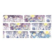 Washi Tape Set of 2 Rolls, Decorative Craft Tape, Scrapbooking, DIY More