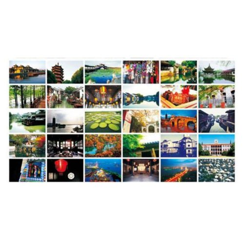 30PCS 1 Set Creative Postcards Artistic Beautiful Postcards, Suzhou Impression