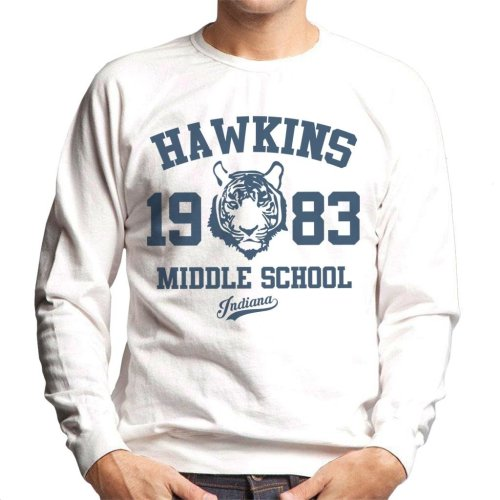 Hawkins Middle School Stranger Things Men's Sweatshirt
