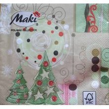 4 x Christmas Paper Napkins - Christmas Mix - Ideal for Decoupage