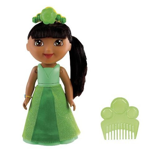 Fisher Price Spin and Sparkle Green Crystal Dora