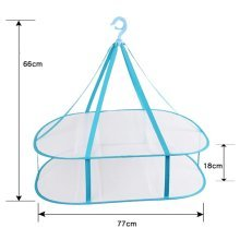Services for You 2 Tier Sweater Drying Rack Hanging Indoor Clothes Drying 30.3''
