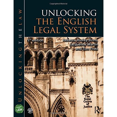 Unlocking the English Legal System (Unlocking the Law)