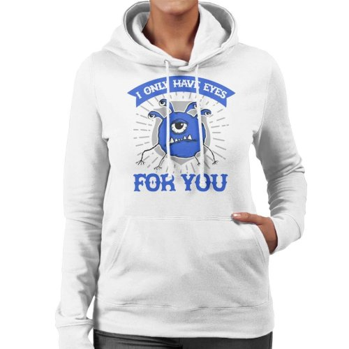 I Only Have Eyes For You Dungeons And Dragons Women's Hooded Sweatshirt