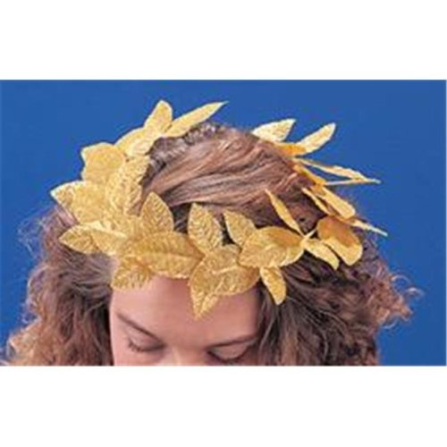 Franco American Novelty 322313 Roman Wreath - Gold - Pack of 12