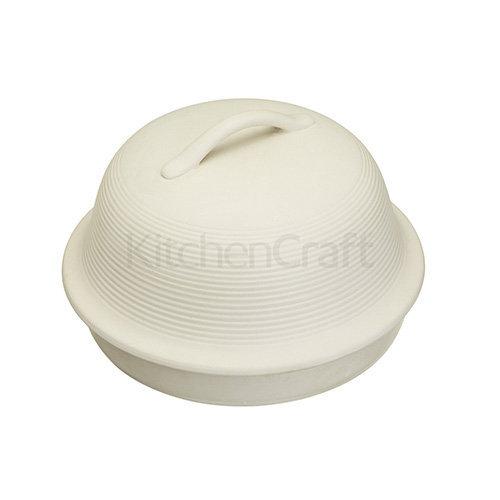 Kitchen Craft 30cm Home Made Stoneware Round Bread Baking Cloche