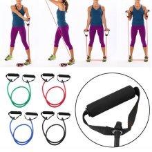Rubber Latex Tension Rope Chest Developer Expander Spring Exerciser Fitness Equipment