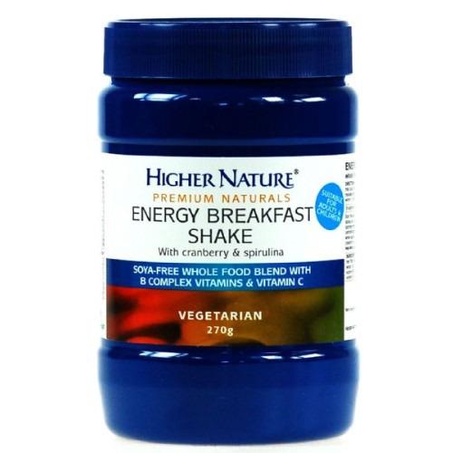 Higher Nature Premium Naturals Energy Breakfast Shake 270g
