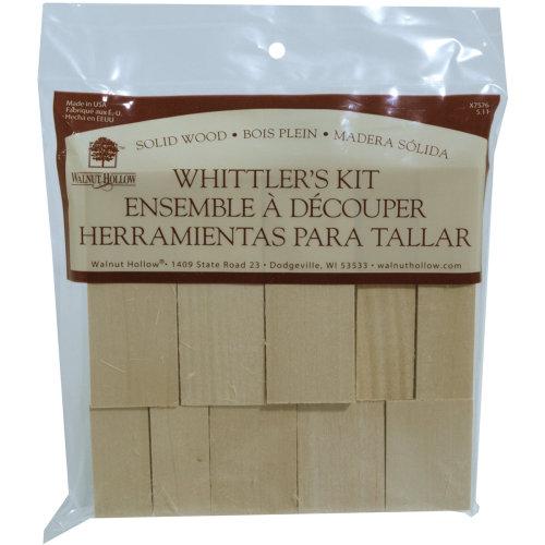 Basswood Whittler's Kit 10pc-