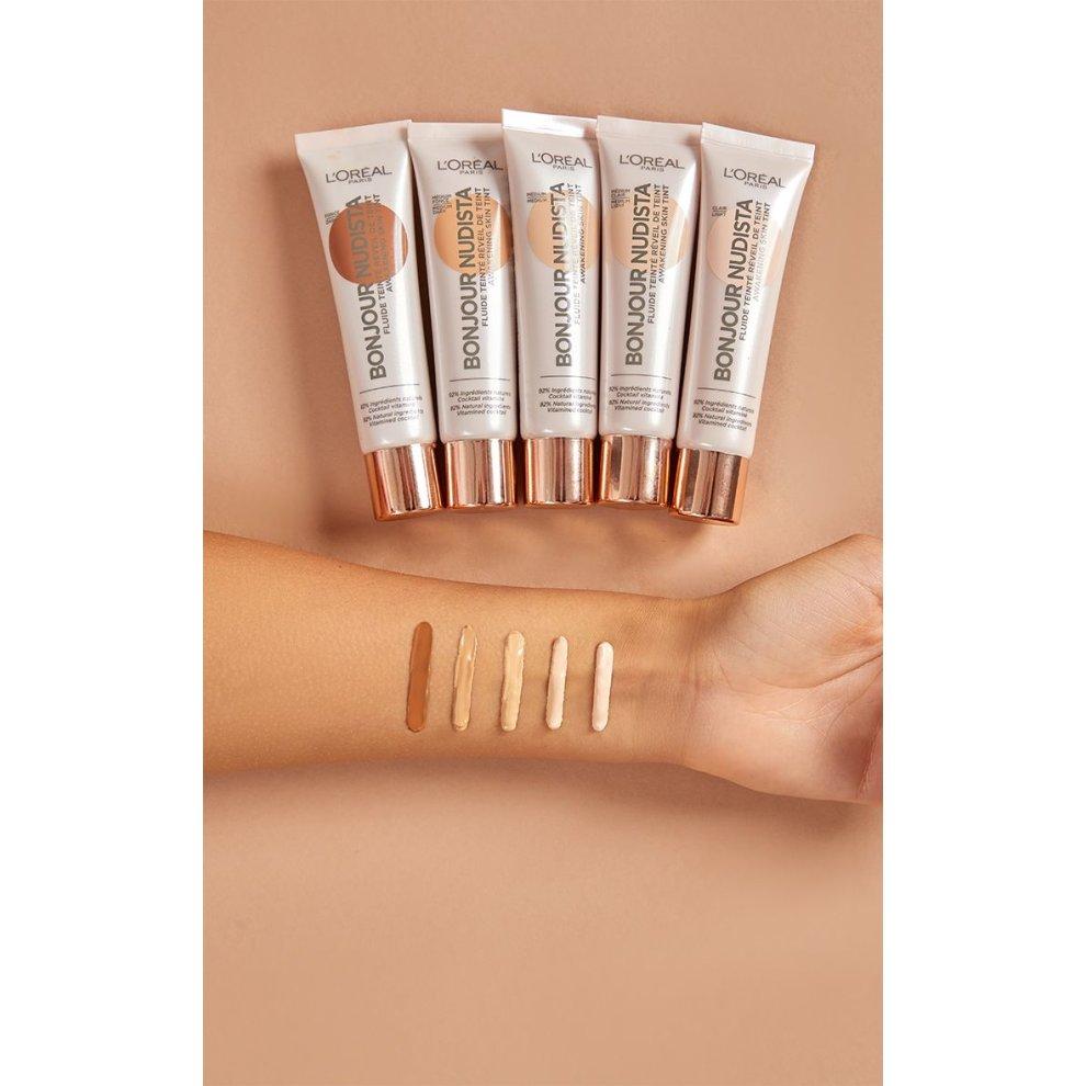 L Oreal Bonjour Nudista Awakening Skin Tint Makeup