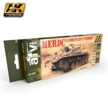 Ak04230 - Ak Interactive Set Merdc Camouflage Colors