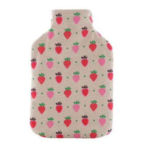 Warm Cute Hot-Water Bottle Water Bag Water Injection Handwarmer Pocket Cozy Comfort,E