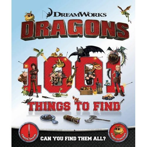 Dragons: 1001 Things to Find