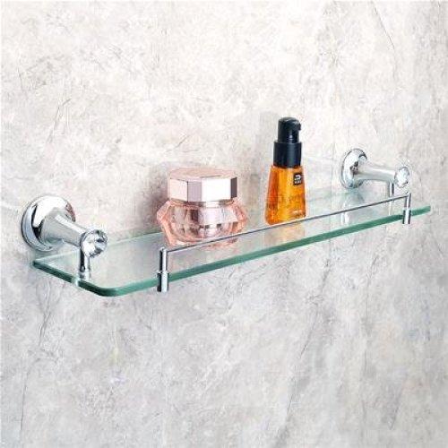 Peachy Sayayo Glass Shelf Bathroom Shelf With Rail Wall Mounted 20 Download Free Architecture Designs Scobabritishbridgeorg