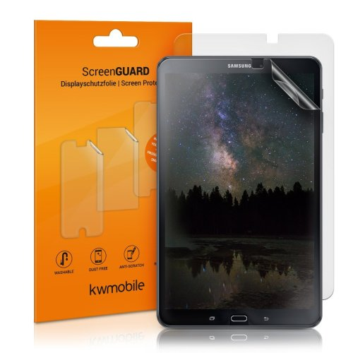 kwmobile 2x Screen Protector for Samsung Galaxy Tab A 10.1 T580N/T585N - Anti-Scratch, Anti-Fingerprint, Matte Display Film for Tablet - Set of 2