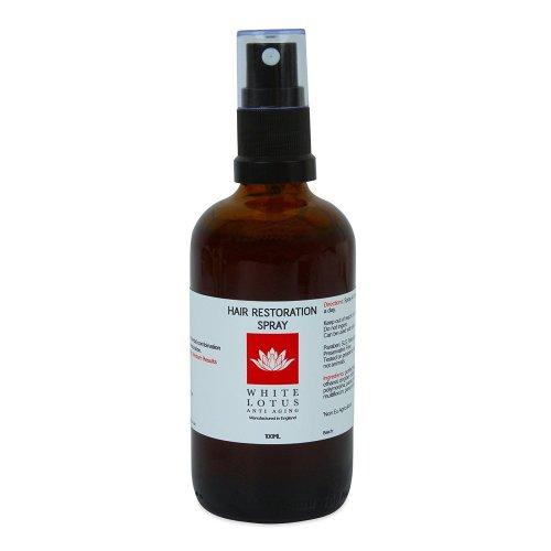 Hair Loss Restoration Spray - 100ml White Lotus Hair Loss Remedies