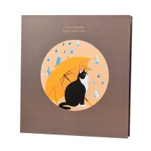DIY Scrapbook Photograph Album Cute Cat Pattern