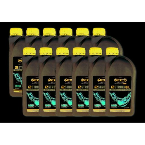 Mexco Two Stroke Oil 1 Litre Bottle (Box Of 12)