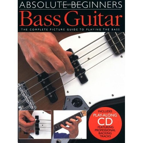 Absolute Beginners Bass Guitar (Book & CD)