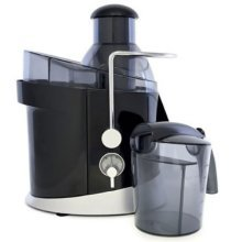 Lloytron Kitchen Perfected Full-Fruit Juice Extractor, 600 W, 1.3 Litre, Black