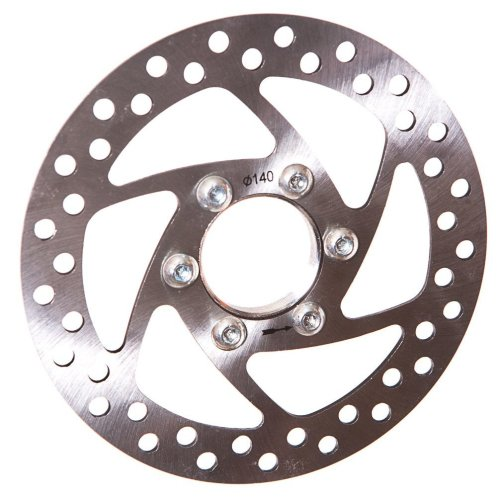 140mm DISC BRAKE ROTOR with REMOVEABLE DISC MOUNT AND BOLTS FOR MOUNTAIN BIKES