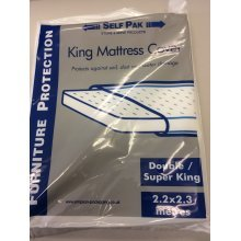 King Size Mattress Cover - Plastic - fits Double - Super King