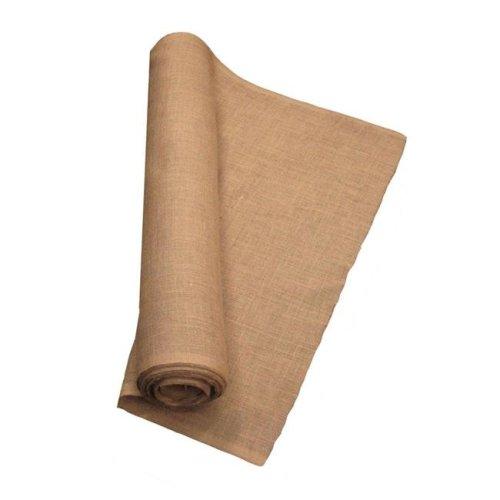 LA Linen 60IN-Burlap-10YardRoll 10 Yards Burlap Fabric, Natural - 60 in.