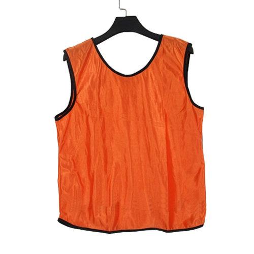 Set of 6 ORANGE One Size Basketball/Soccer Scrimmage Vests Basketball Jersey