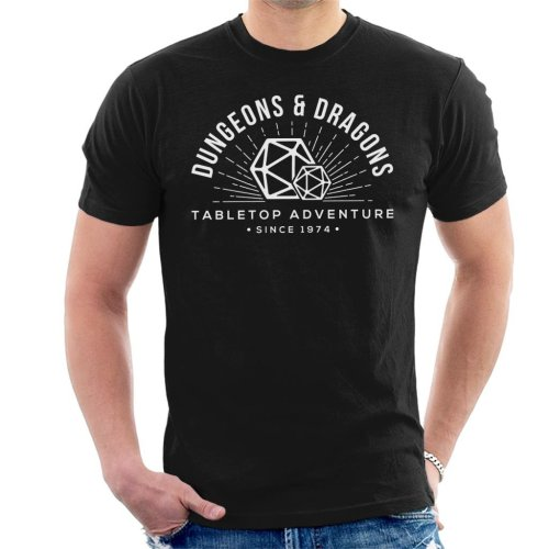 Dungeons And Dragons Table Top Adventure Men's T-Shirt