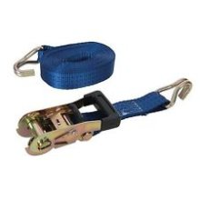 Silverline Ratchet Tie Down Strap J-hook 6m x 38mm Rated 750kg Capacity 1950kg -  silverline 2 cargo lash x 6m strap ratchet 785253 tie 38mm ton down