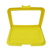 Dog Toilet Puppy Dog Pet Potty Patch Training Pad Pet Supplies 46 X 34 CM Yellow