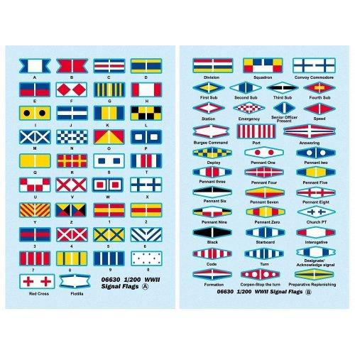 Tru06630 - Trumpeter - Wwii Signal Flags