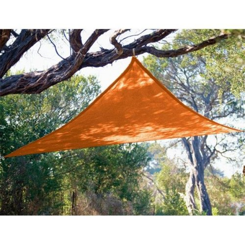Coolaroo 799870434526 9 ft. 10 in. Triangle Orange